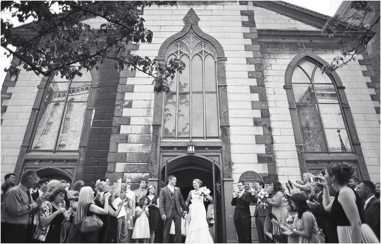 Wedding at St Luke's Rochester, NY