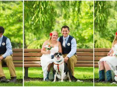 Aj+Eric's Rustic Country Wedding at the Wingate Barn