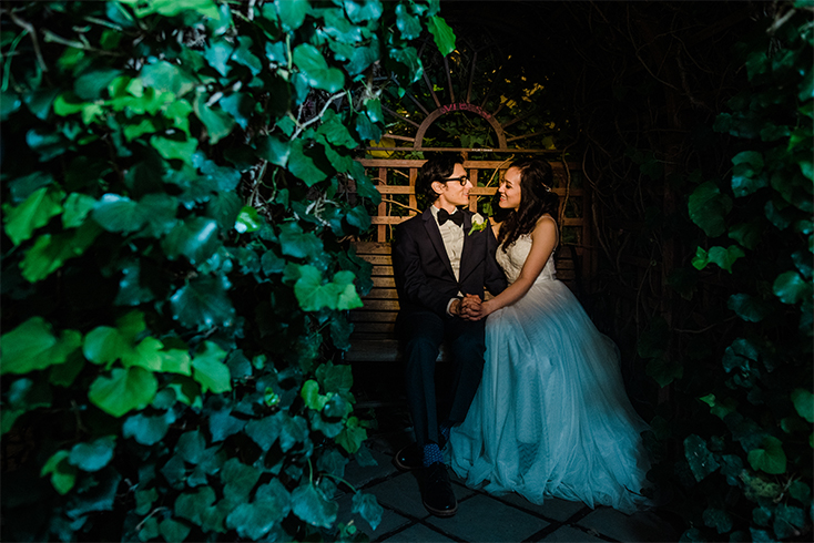 Catherine and Salvador Wedding Day at the Erie Botanical Gardens Buffalo NY