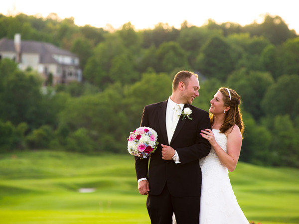 Kira and Tommy's lovely wedding day at the Cobblestone Creek Country Club