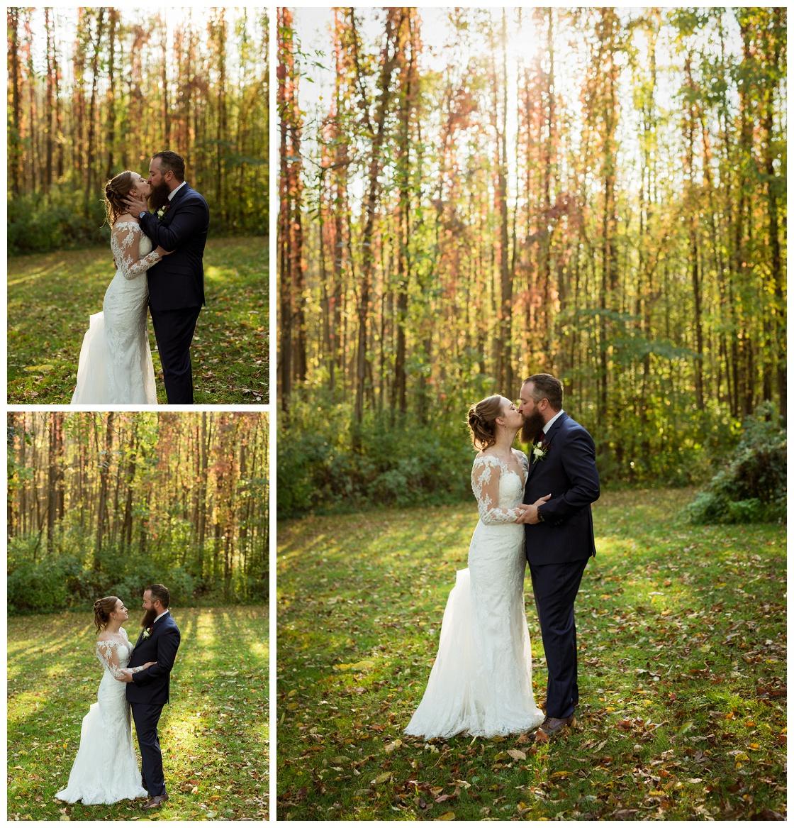 Fall Wedding Sodus, NY