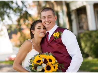 Cobblestone Wedding Barn Fall Wedding Day